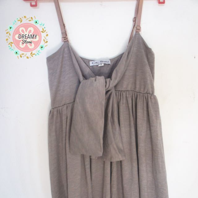 Preloved - Chic Simple Grey Dress