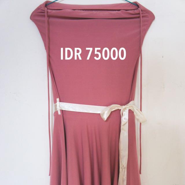 Preloved - No Brand Pink Dress