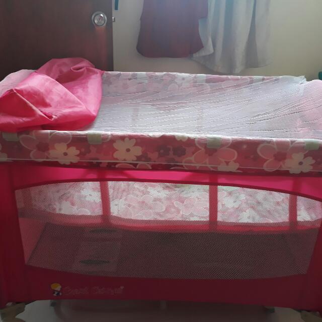 Preloved Baby Girl's Crib