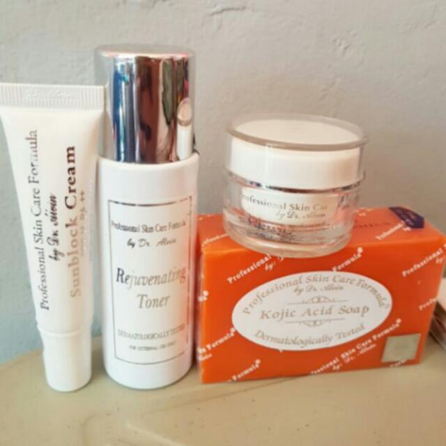Pre-order Rejuvenating Set by Dr.Alvin