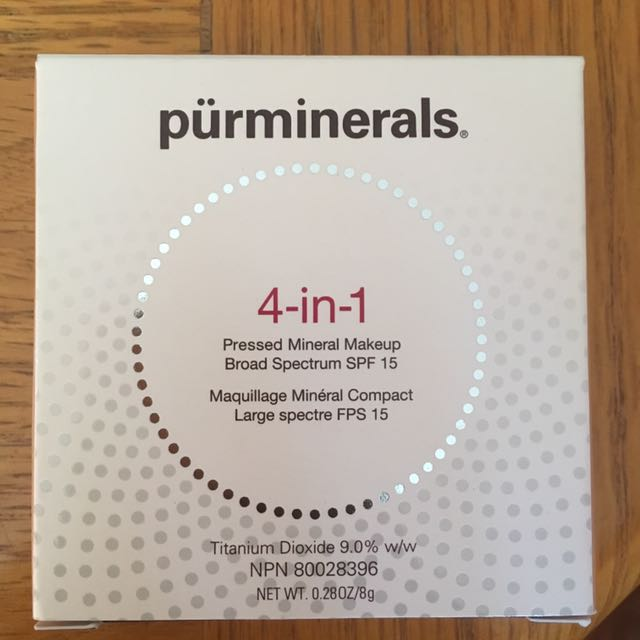 4-in-1 Pressed Mineral Makeup