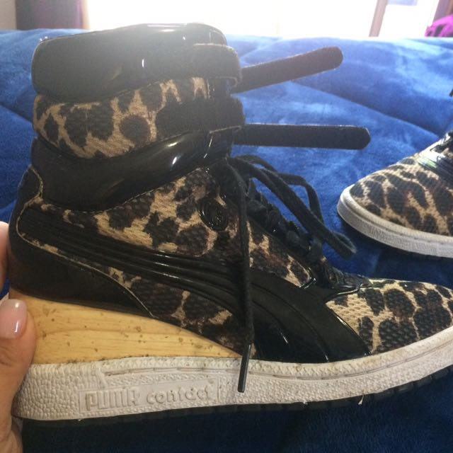 Puma  Contact Heel High Tops