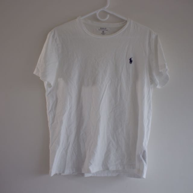 Ralph Lauren Classic fit Cotton T-Shirt (White)