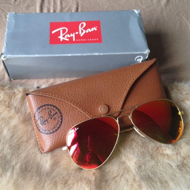Ray Ban Aviator Flash Lenses