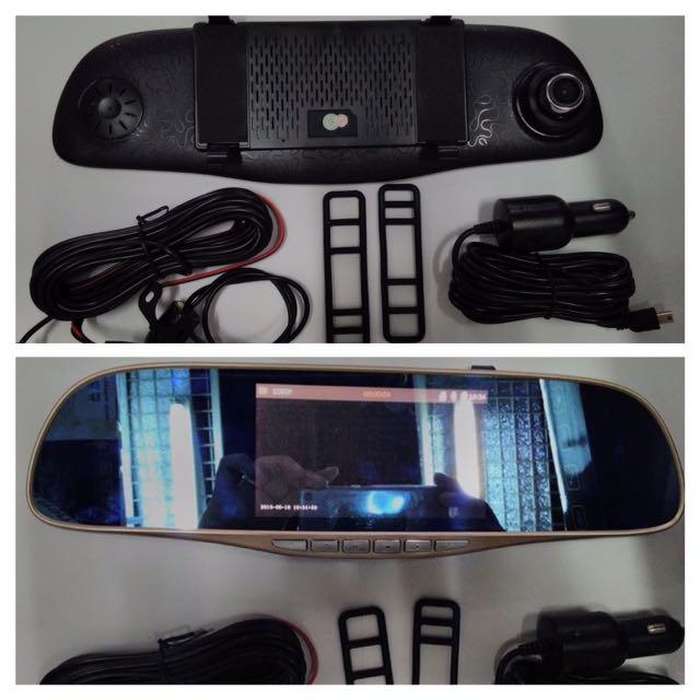 Rearview Mirror Dashcam