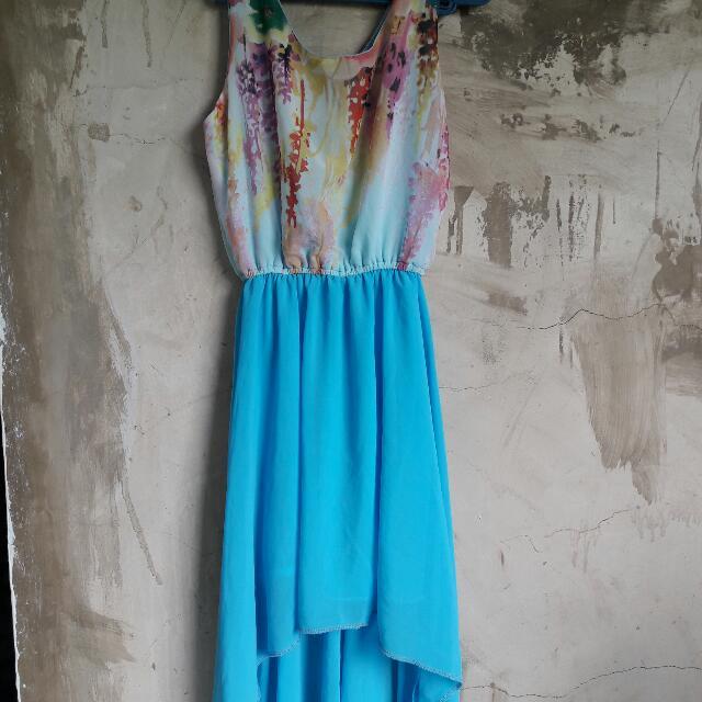 REPRICE Long Back Summer Dress