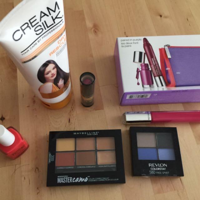 Revlon + maybelline + Clinique Makeup