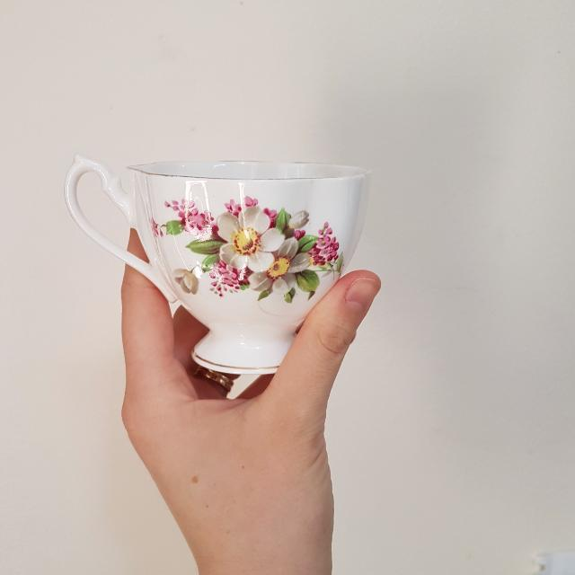 Royal Swan Fine Bone China Teacup Set