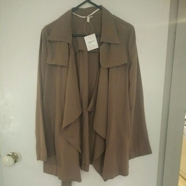 Sadie Brown Drapery Jacket