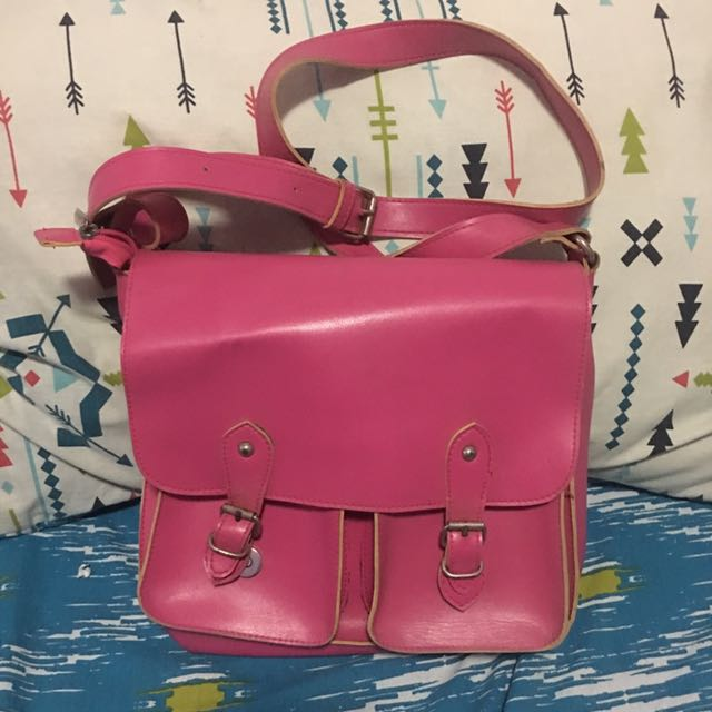 Satchel Pink Bag