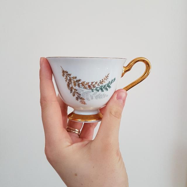 Set of 2 Royal Stafford Fine Bone China Teacup Set