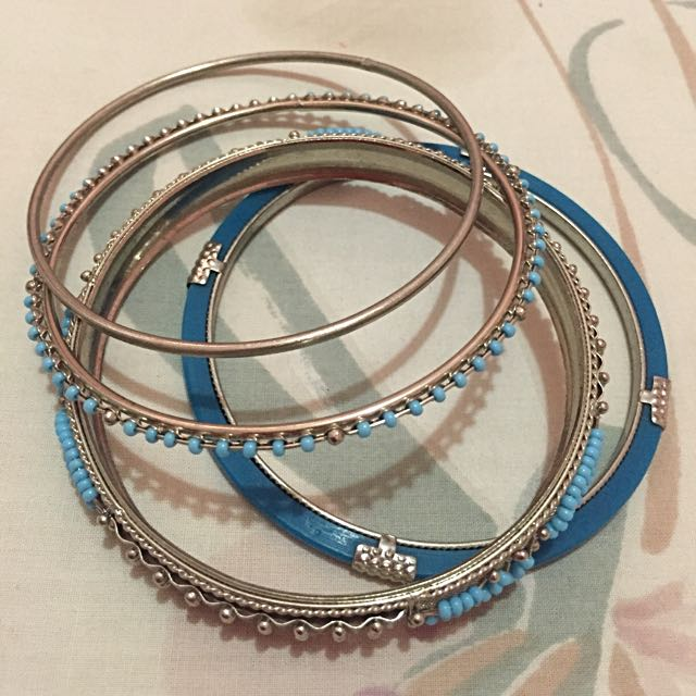 Set of Classy Bangles from Spain