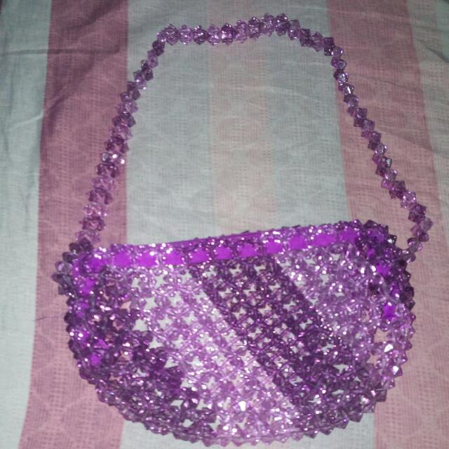 Beads Shoulder Bag