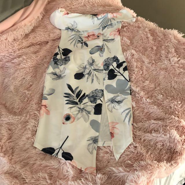 Size 8 Chiffon Boutique Dress