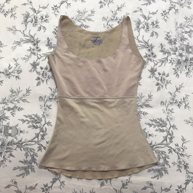 Spanx Nude Colored Singlet/thermal