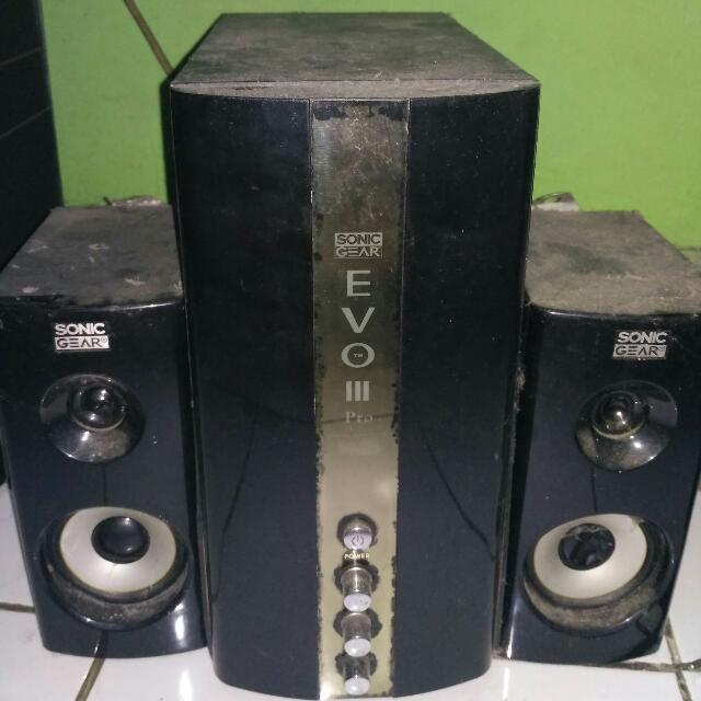 Speaker Sonic Gear Evo 3 Pro
