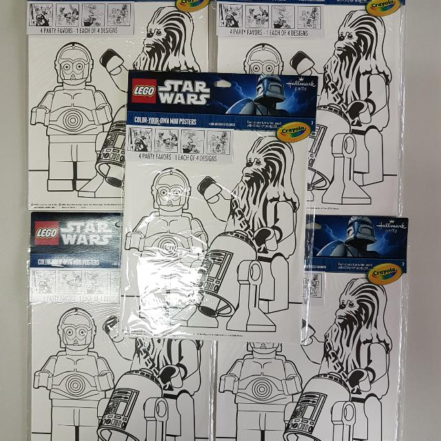star wars theme party favors