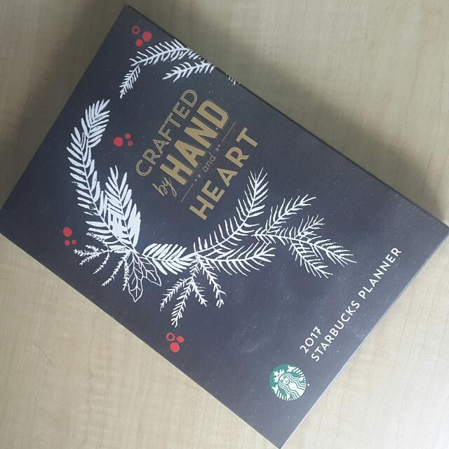 Starbucks Planner 2017 (Free Shipping within MM)