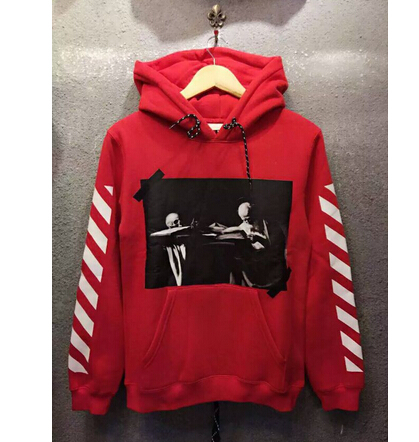 Street Pyrex Virgil Abloh - Red Hoodies