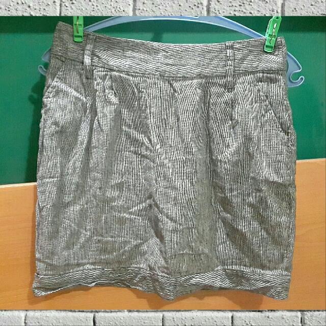 Stripes Gray Skirt