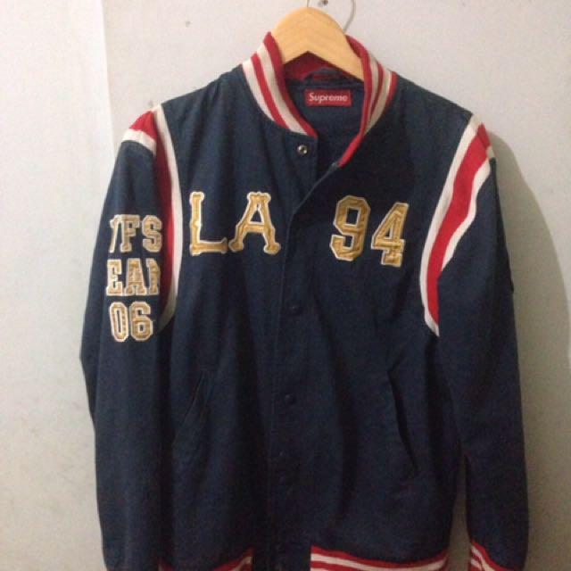 Supreme varsity jacket LA