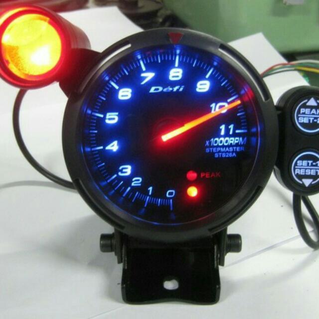 tachometer takometer defi bf 3 75 1warna auto accessories on carousell
