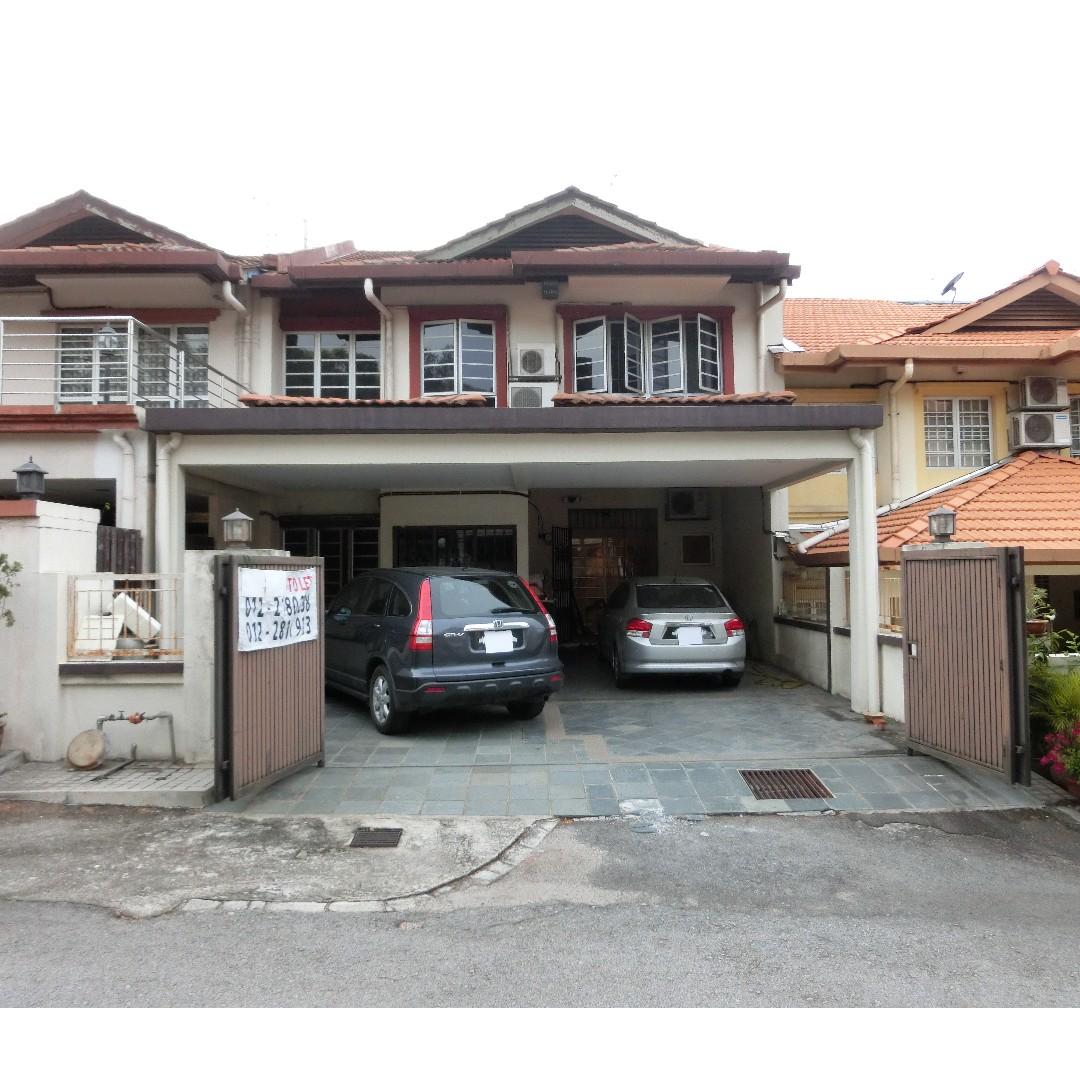 Taman Midah, Cheras: Superlink House for Rent, Property, Rentals on on