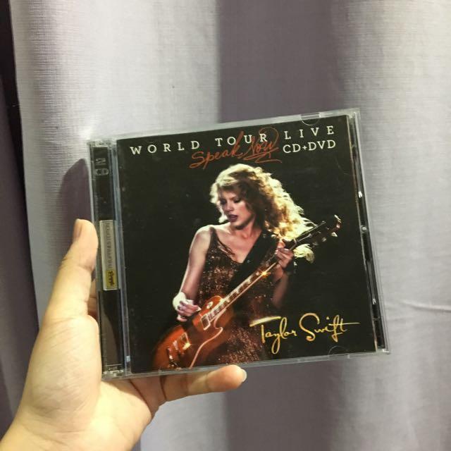 Taylor Swift World Tour DVD