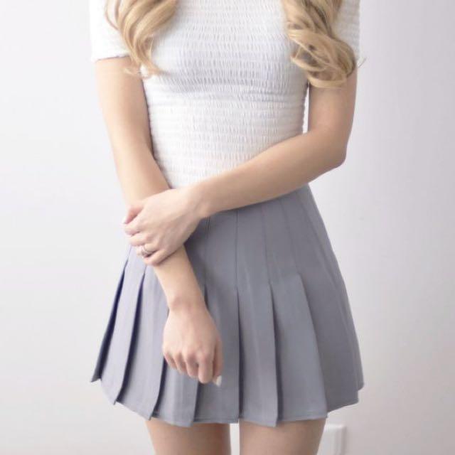 Tennis skirt GREY