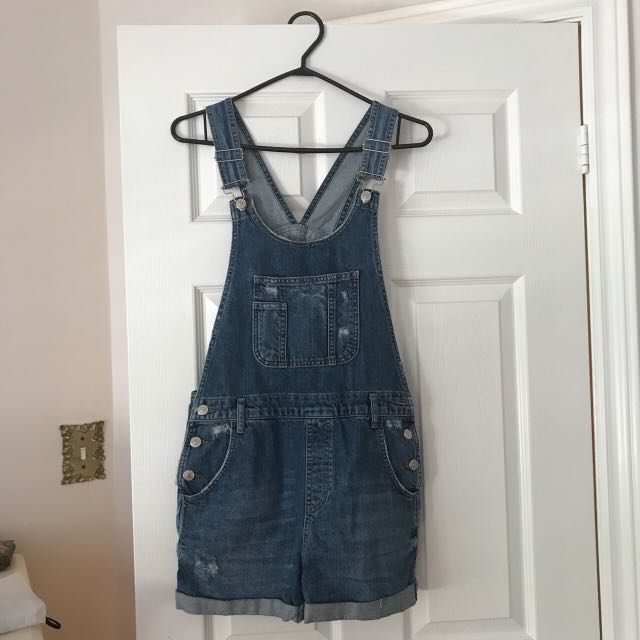 Topshop Moto Overall Shorts