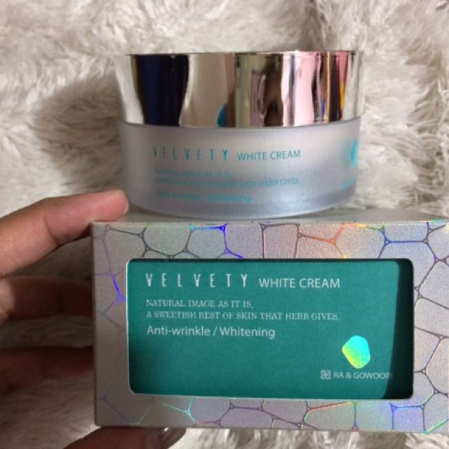 Velvet White Cream