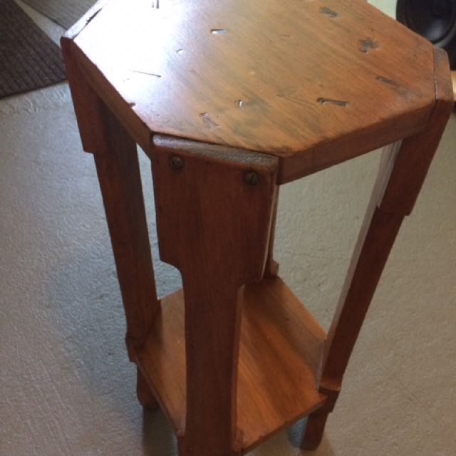Wooden Decorative Stand