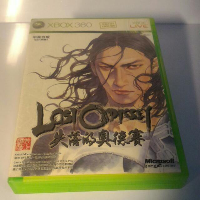 XBOX360 中文版 失落的奧德賽白金(4片裝) 保存良好盒書齊全/網拍最低價