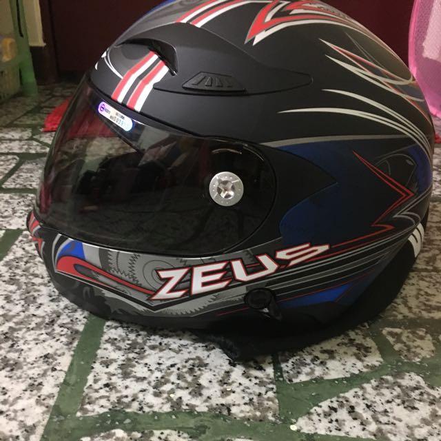 ZEUS 807 全罩安全帽 M號 全新