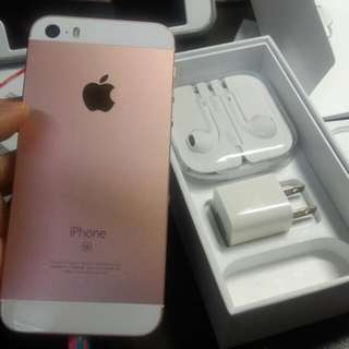 IPhone SE 16g (玫瑰金)