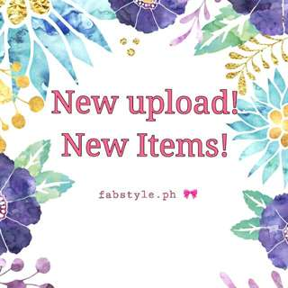 New Affordable Items! New Upload!