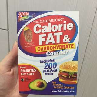 Calorie Fat & Carbohydrate Counter Book