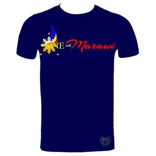 ONE WITH MARAWI SHIRT FOR A CAUSE