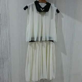 White Cocktail Dress Size XS-S