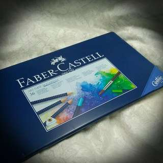 Faber Castell - art grip aquarelle 36 - 木顏色