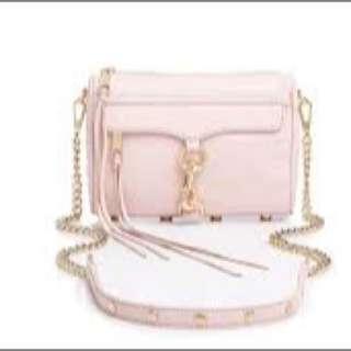 Rebecca Minkoff Sling Bag In Pink