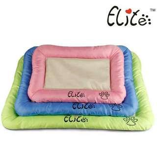 全新 ELITE 夏季冰絲面料寵物墊  涼蓆  寵物床  寵物窩  狗床 貓床  狗窩  寵物用品