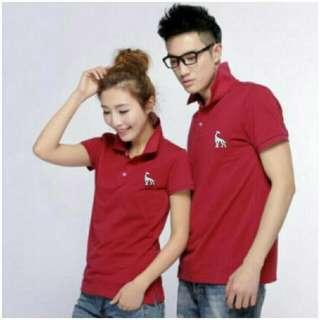 Polo tee shirt/tee shirt couple/korea fashion/men shirt/men's fashion/muslimah fashion