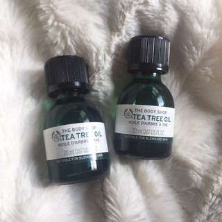 Tea Tree Oil-The Body Shop