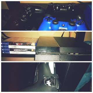 3 Months Old Ps4 500gb With Games