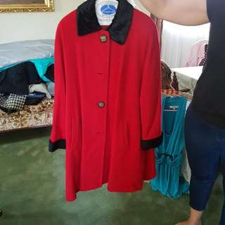 Dressy Red Coat