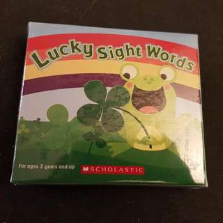 Lucky Sight Words - Dominos Word Game