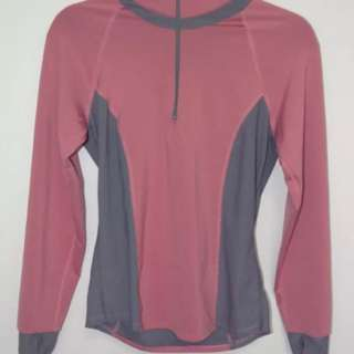 Women's Snow Angel Long Sleeve Exercise Thermal Top