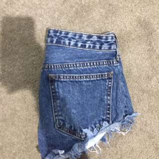 Vintage Distressed Shorts