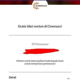 Tiket Nonton Cinemaxx